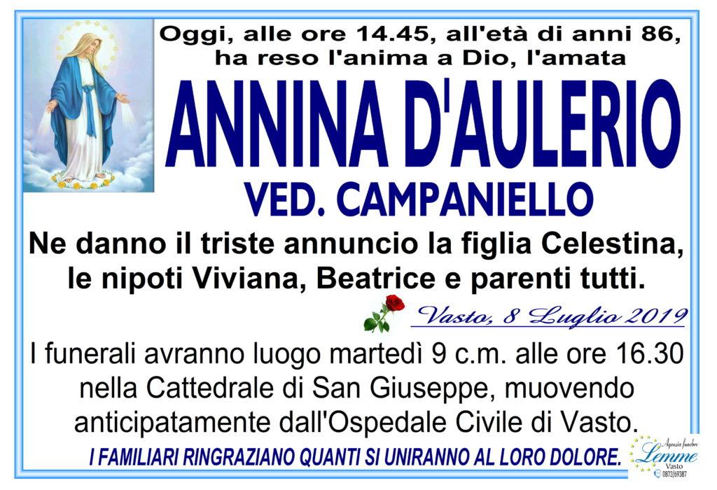 ANNINA D'AULERIO