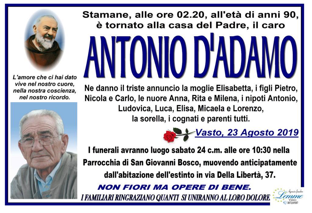 ANTONIO D'ADAMO