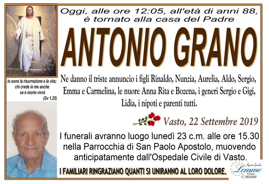 ANTONIO GRANO