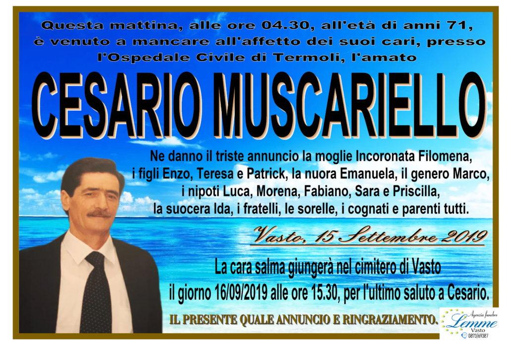 CESARIO MUSCARIELLO