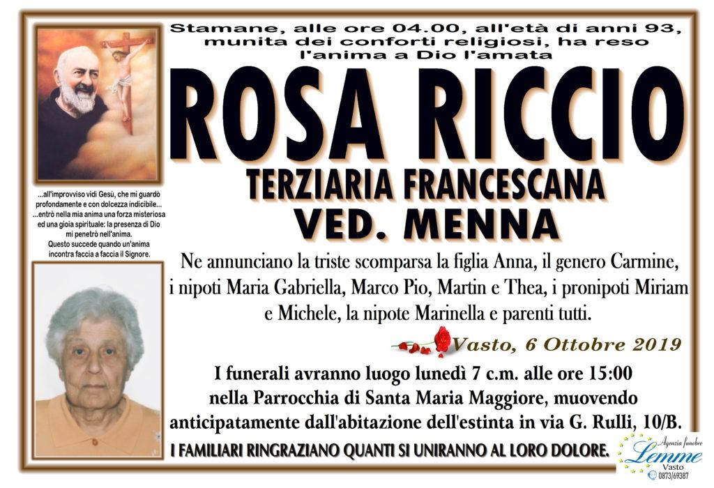 ROSA RICCIO