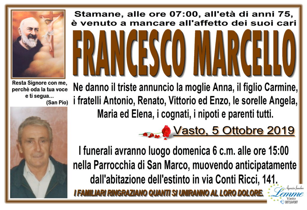 FRANCESCO MARCELLO