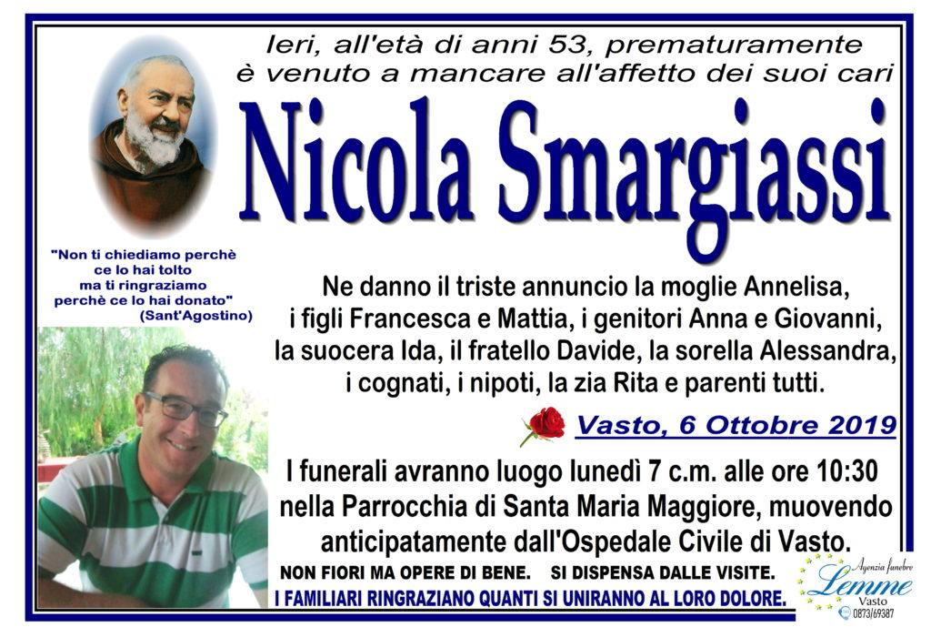 NICOLA SMARGIASSI