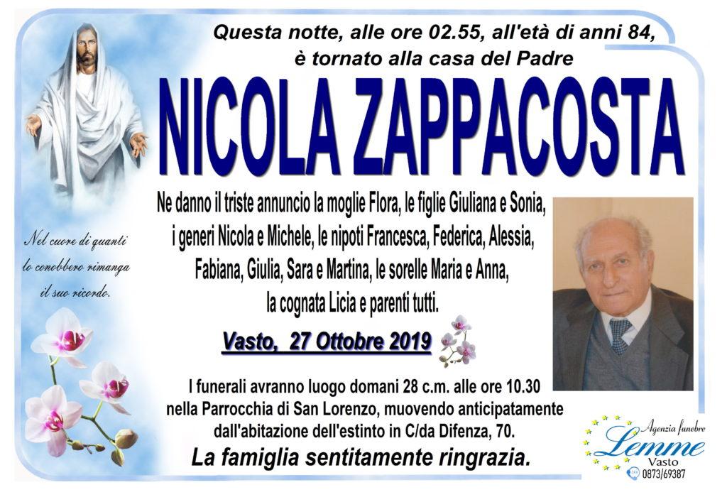 NICOLA ZAPPACOSTA