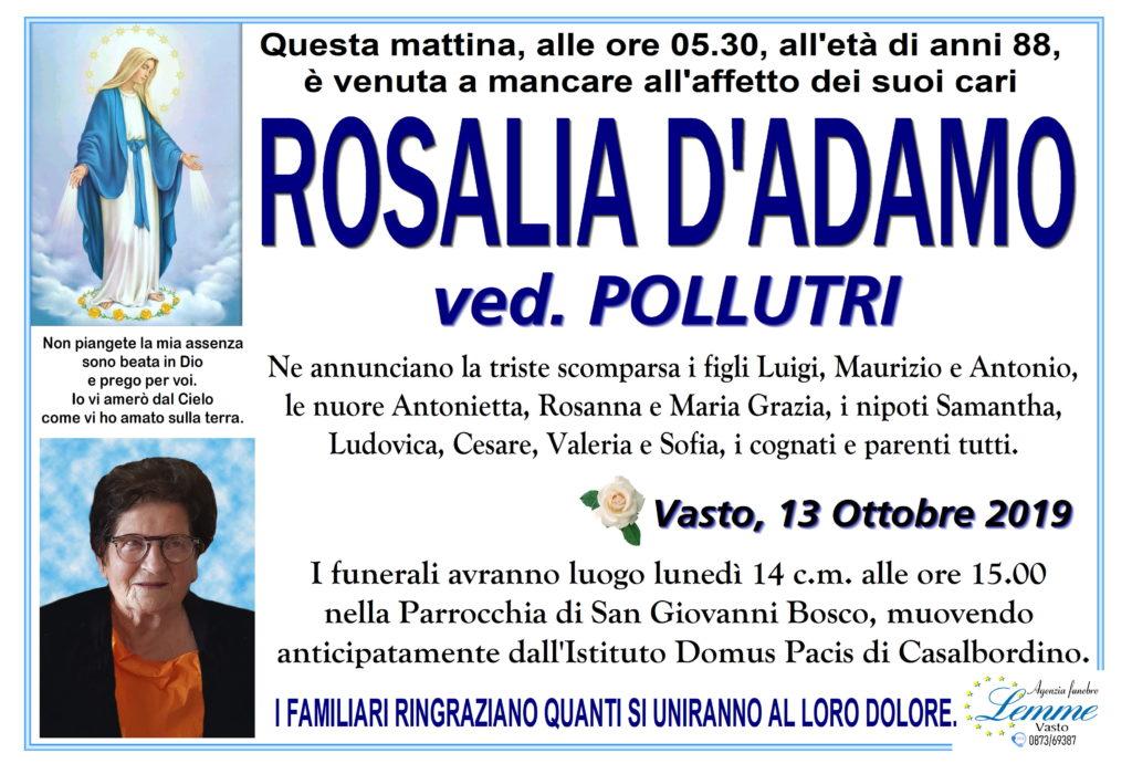 ROSALIA D'ADAMO