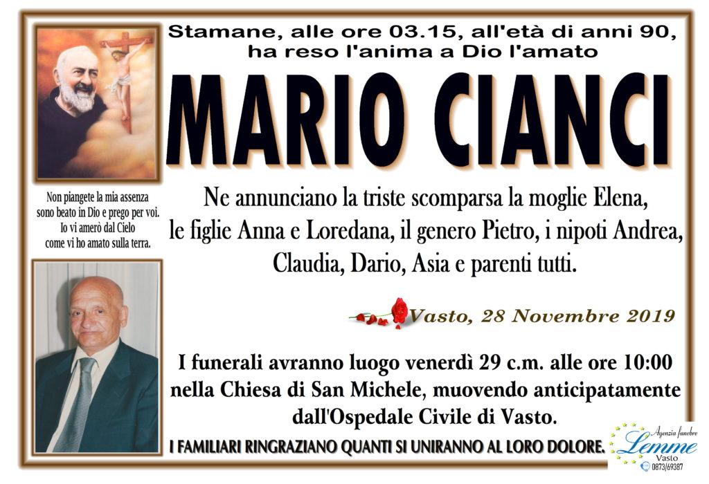 MARIO CIANCI