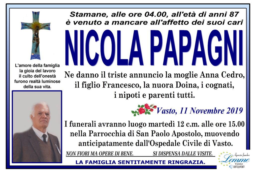 NICOLA PAPAGNI