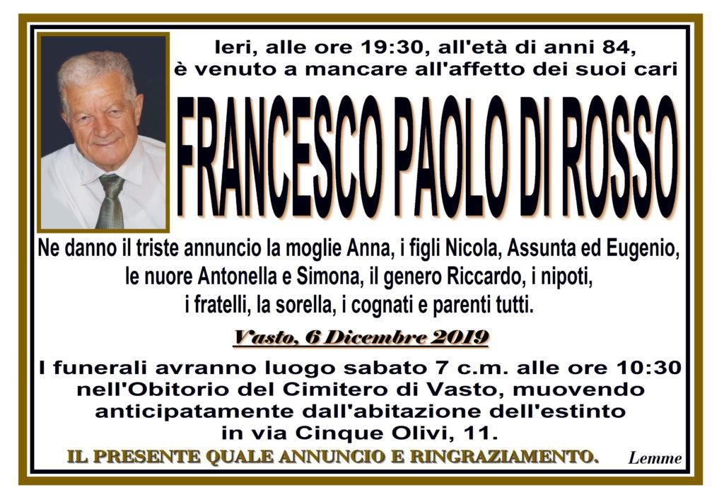 FRANCESCO PAOLO DI ROSSO