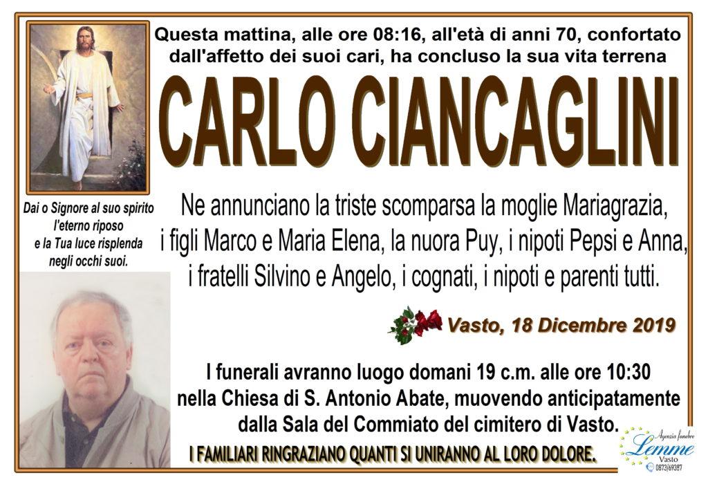 CARLO CIANCAGLINI