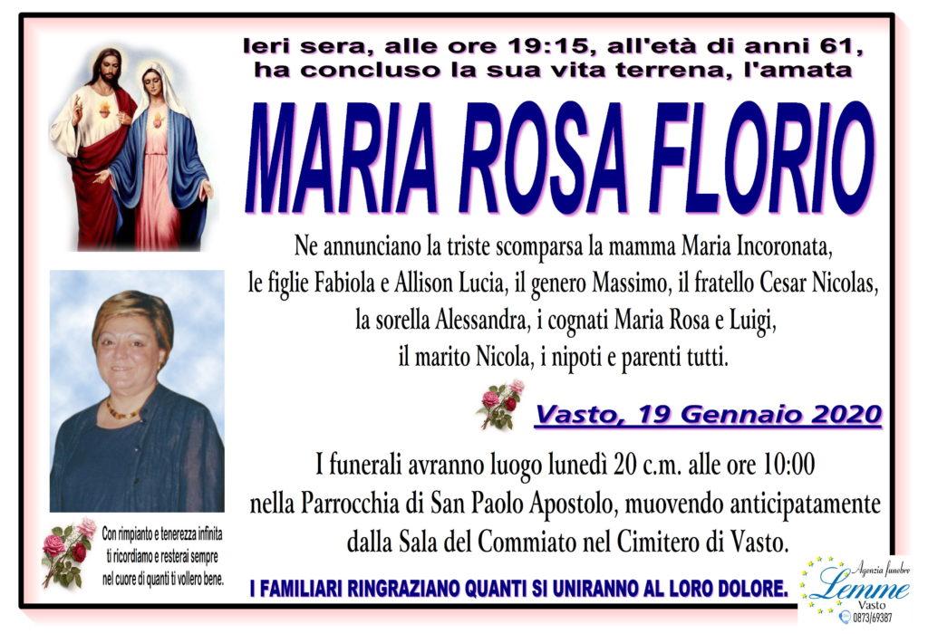 MARIA ROSA FLORIO