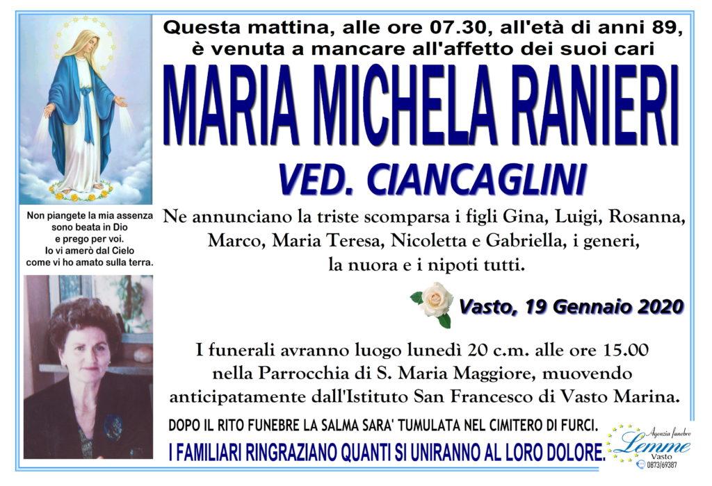 MARIA MICHELA RANIERI