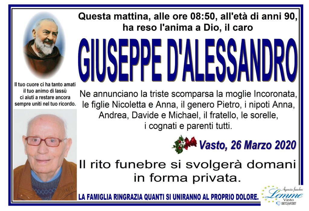 GIUSEPPE D'ALESSANDRO
