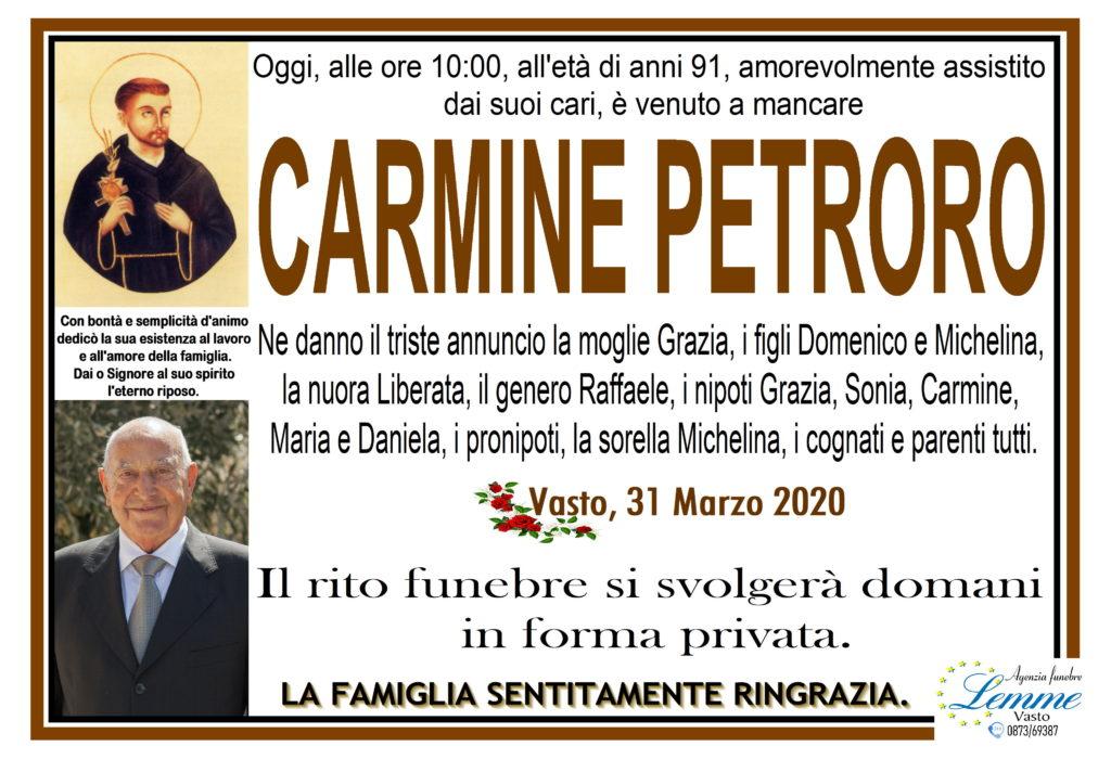 CARMINE PETRORO