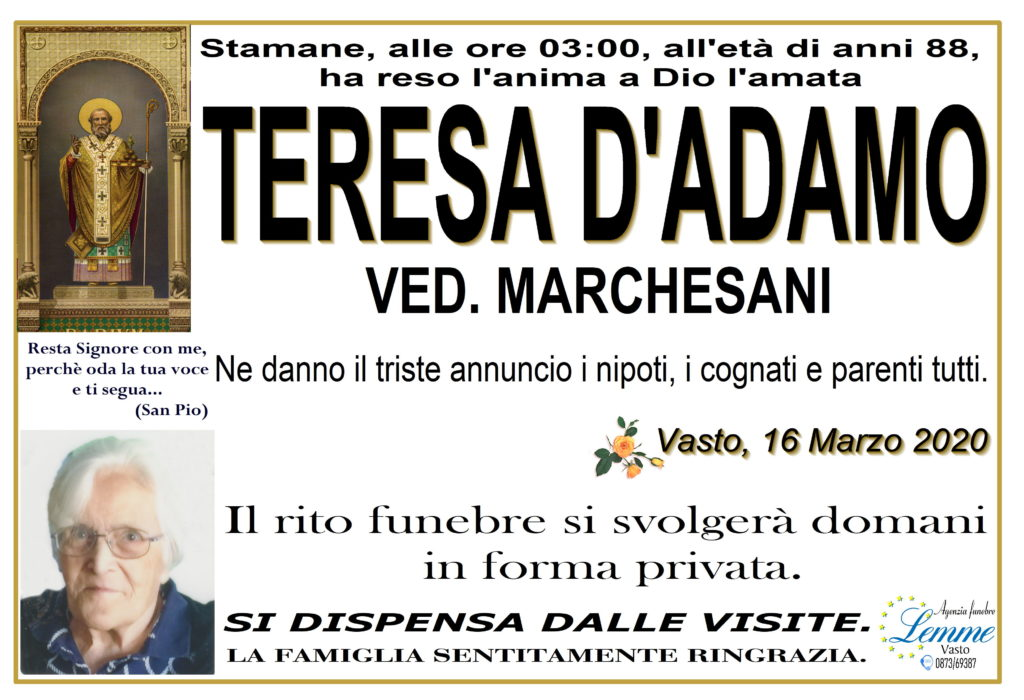 TERESA D'ADAMO
