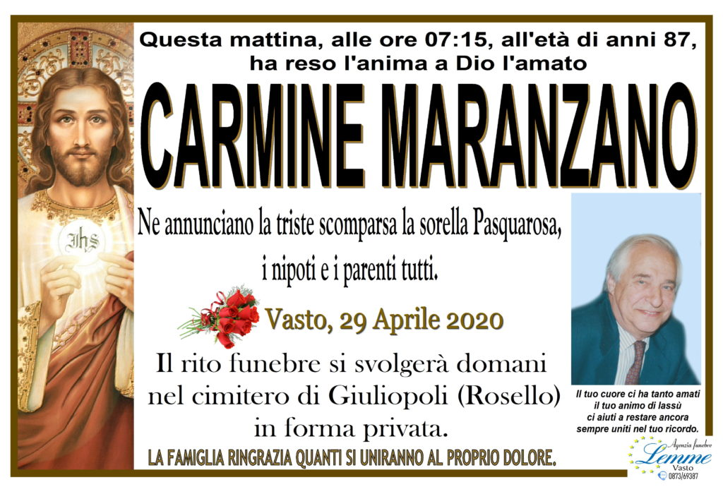 CARMINE MARANZANO
