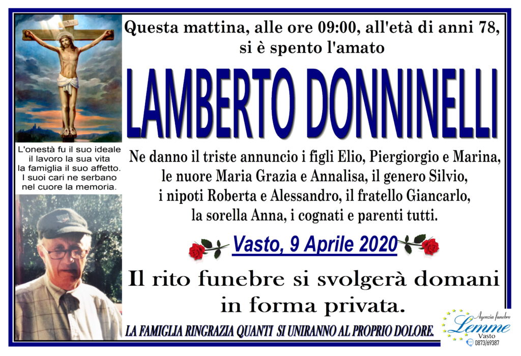 LAMBERTO DONNINELLI