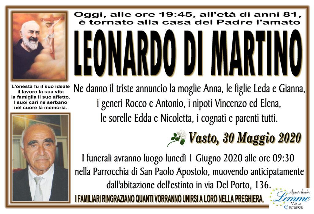 LEONARDO DI MARTINO