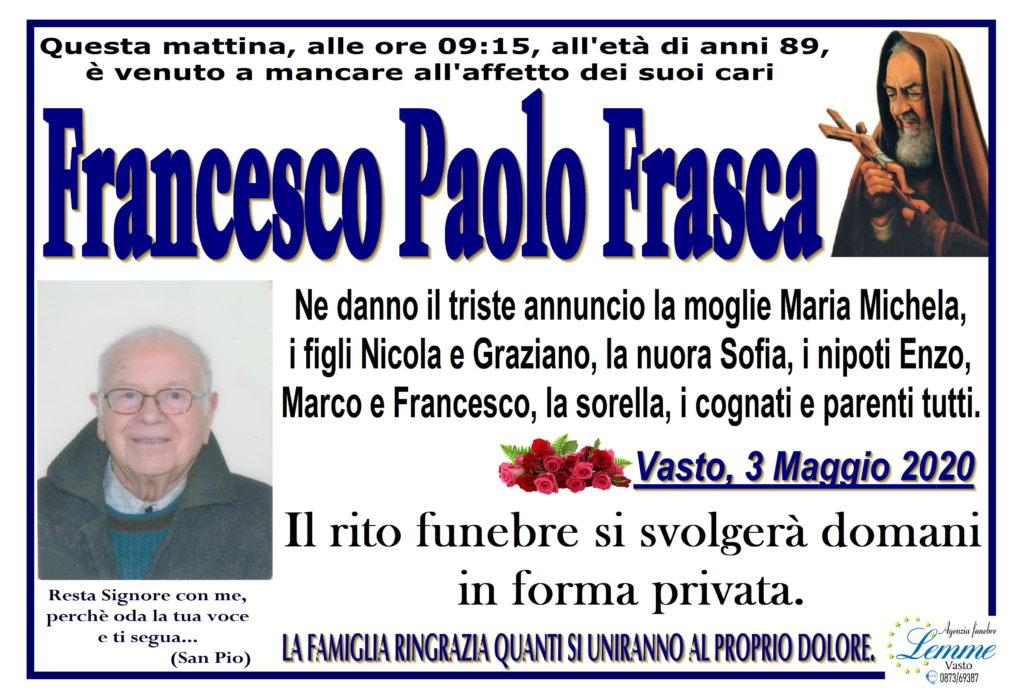 FRANCESCO PAOLO FRASCA