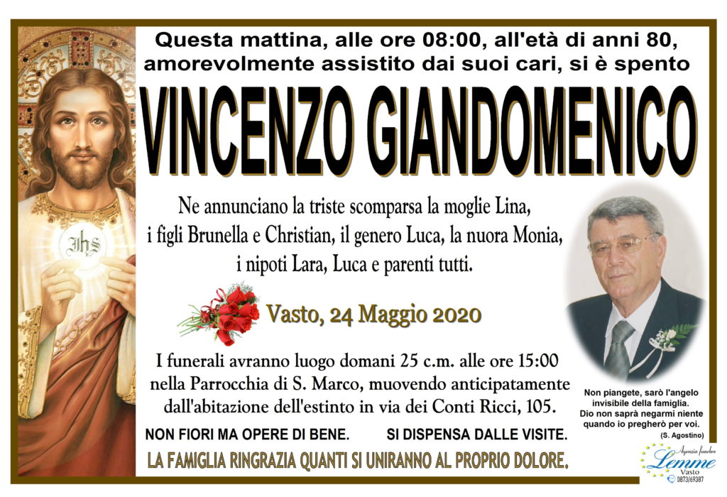VINCENZO GIANDOMENICO