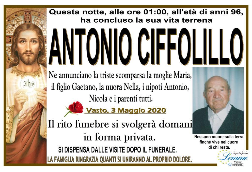 ANTONIO CIFFOLILLO