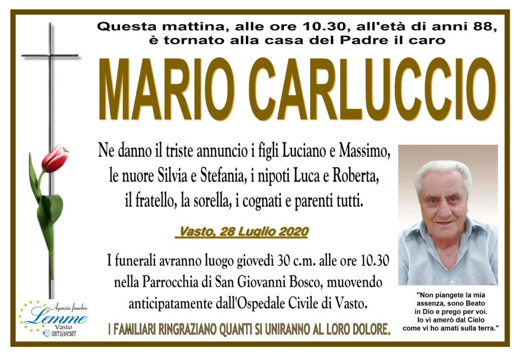 MARIO CARLUCCIO