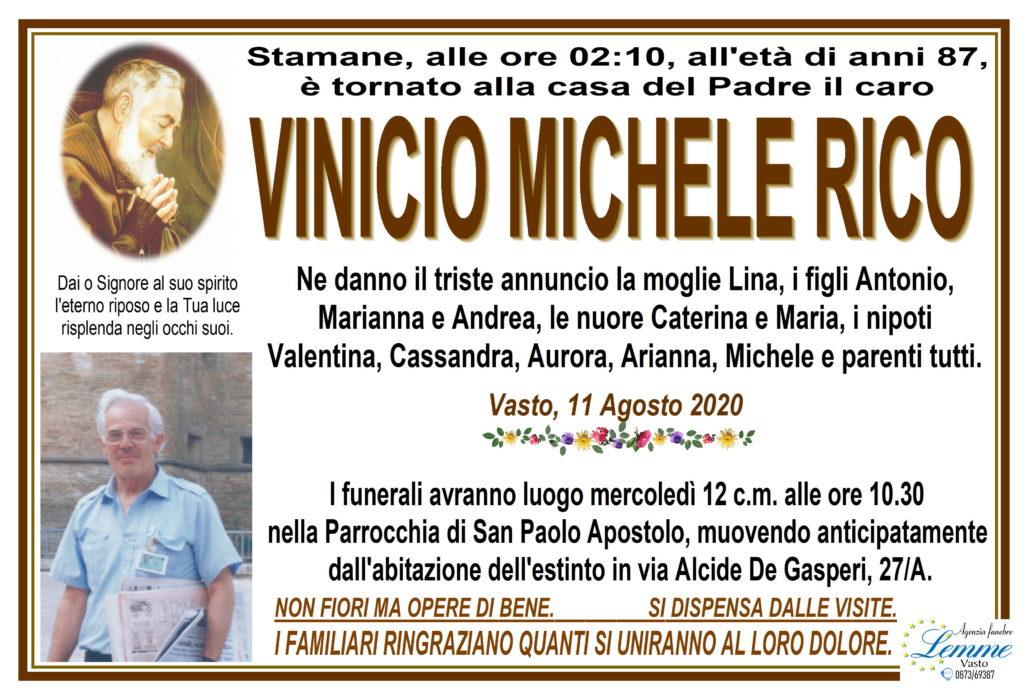 VINICIO MICHELE RICO