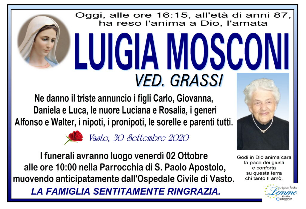 LUIGIA MOSCONI