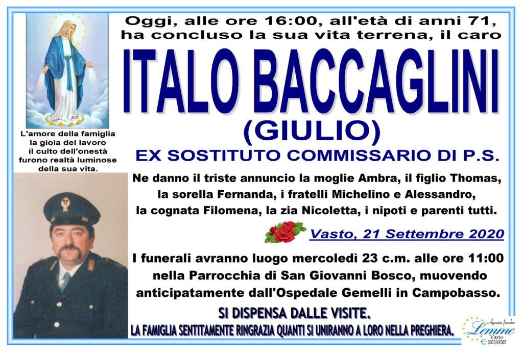 ITALO BACCAGLINI