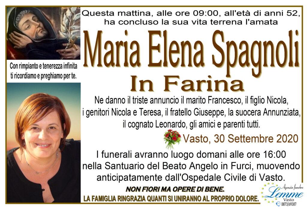 MARIA ELENA SPAGNOLI