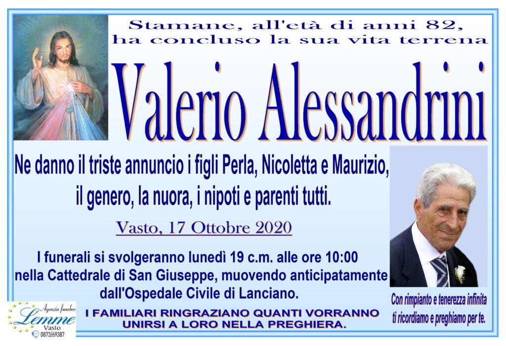 VALERIO ALESSANDRINI