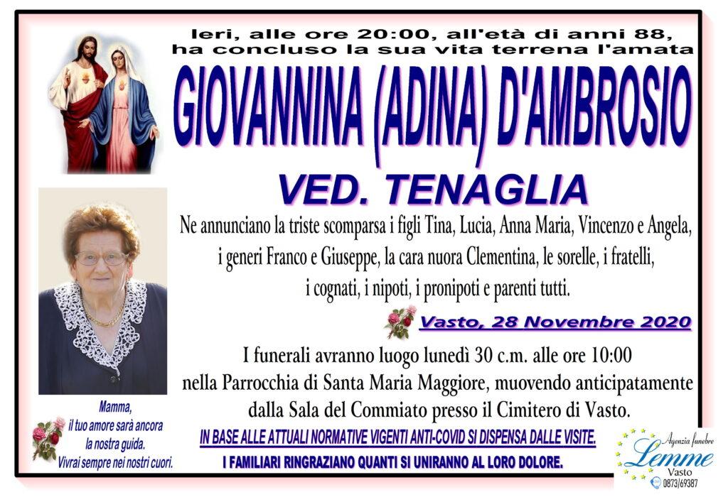 GIOVANNINA D'AMBROSIO