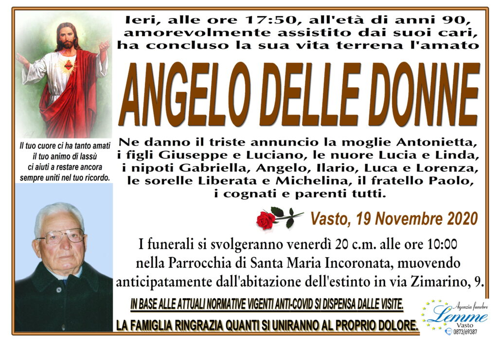 ANGELO DELLE DONNE
