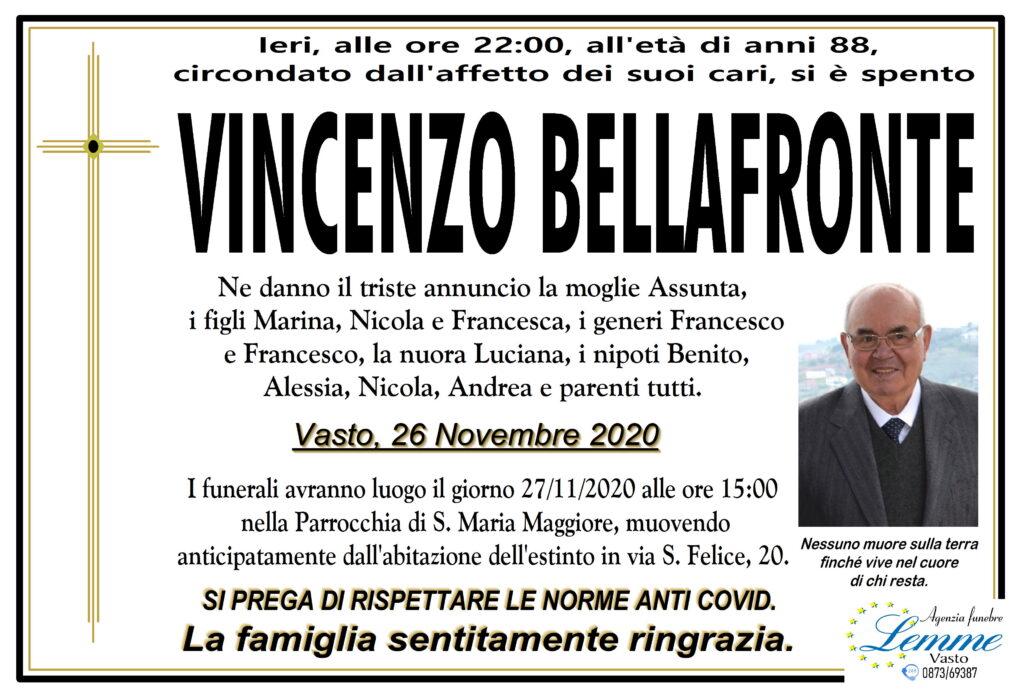 VINCENZO BELLAFRONTE