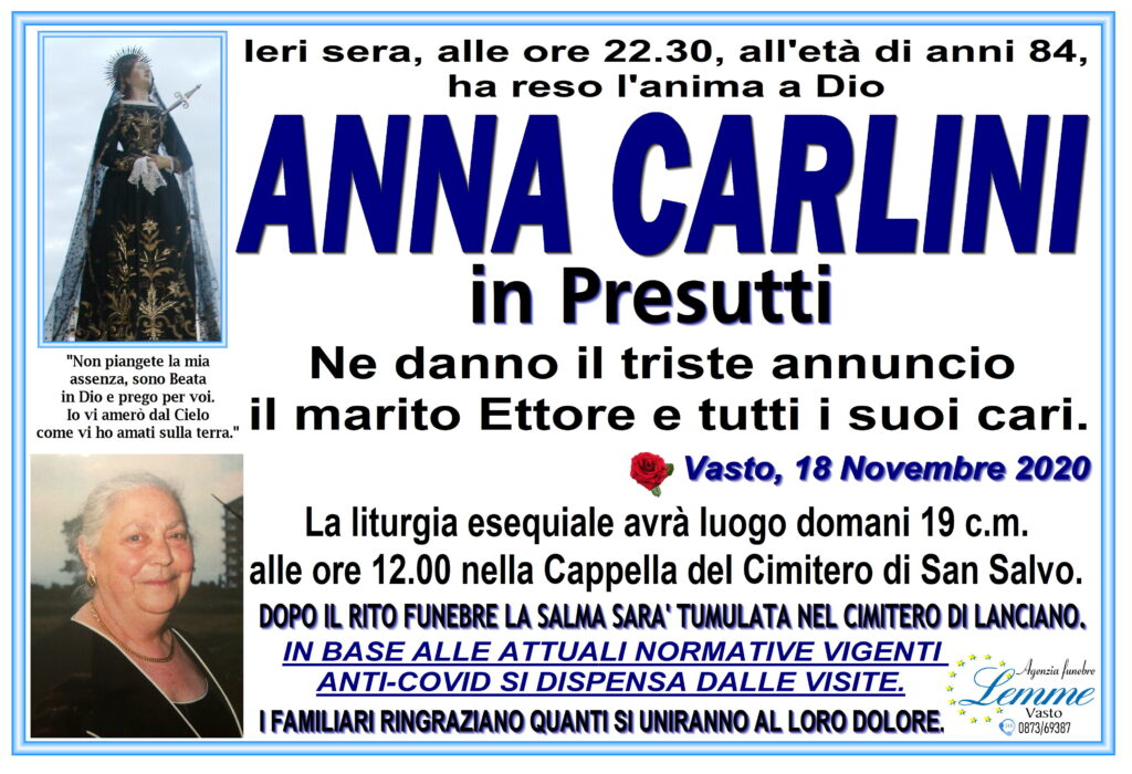ANNA CARLINI