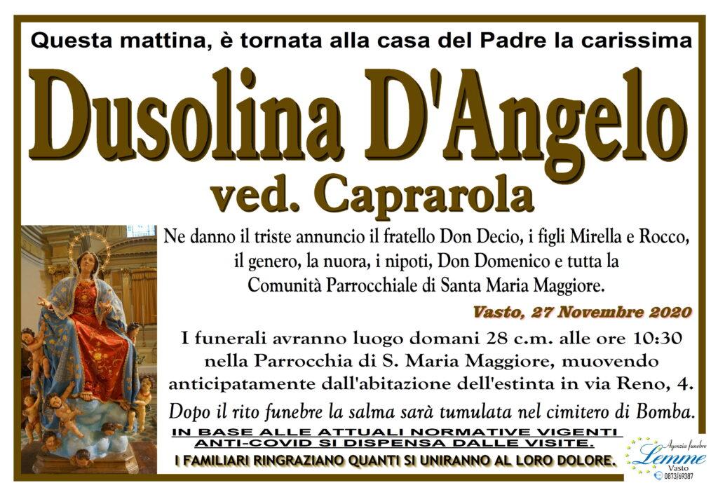DUSOLINA D'ANGELO