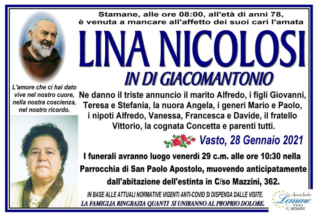 LINA NICOLOSI