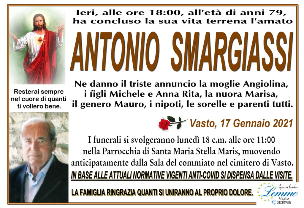 ANTONIO SMARGIASSI