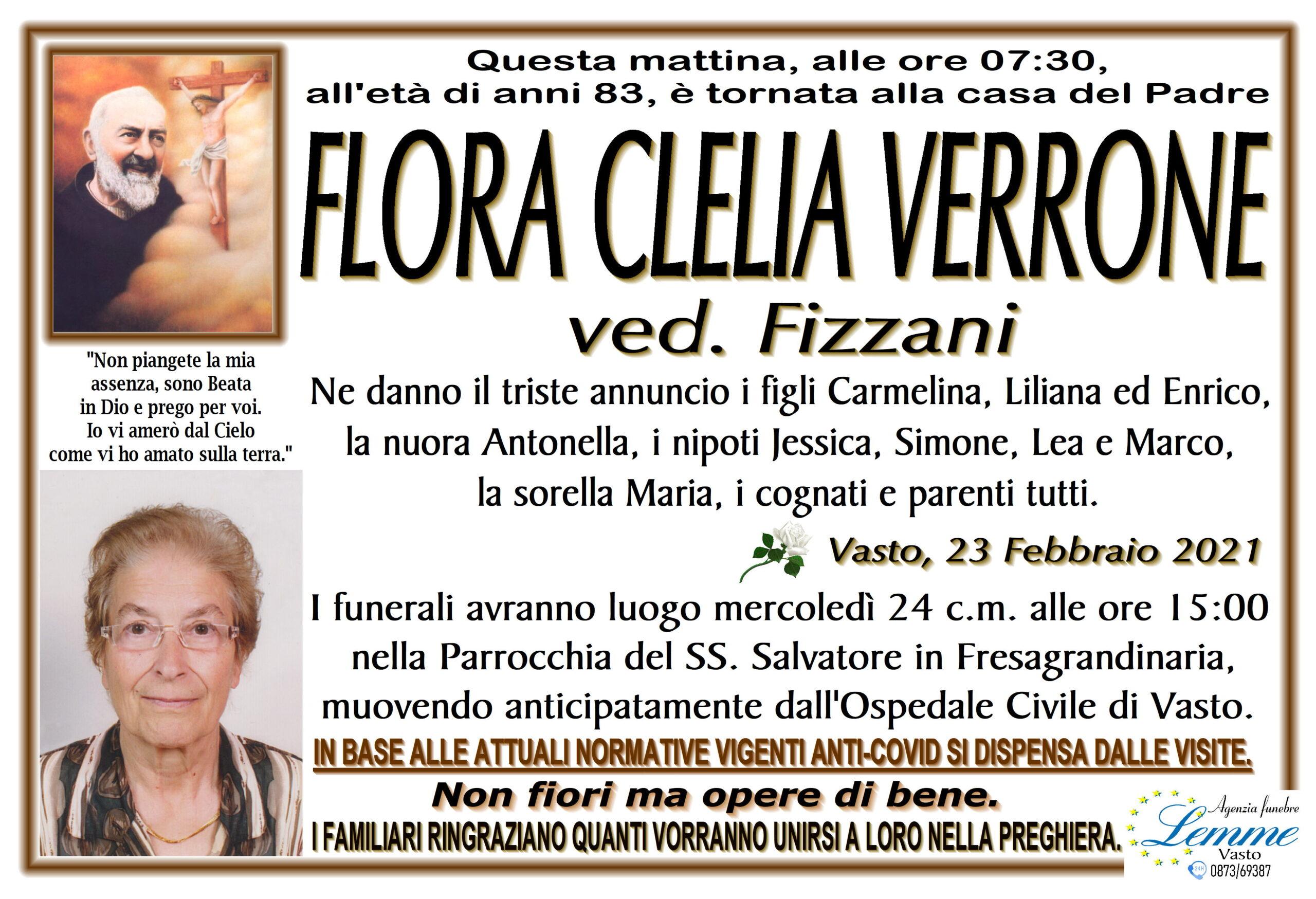 FLORA CLELIA VERRONE