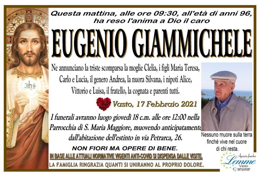 EUGENIO GIAMMICHELE