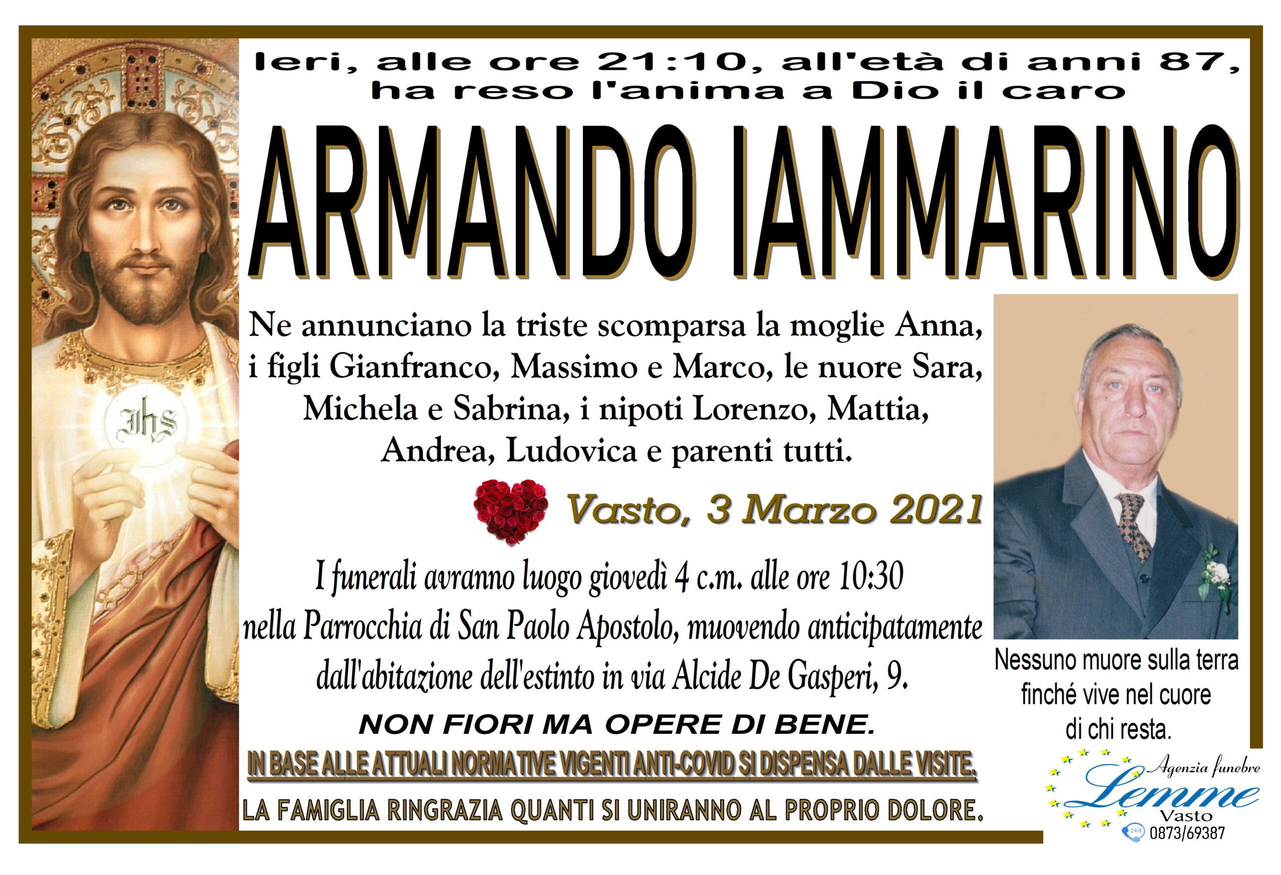 ARMANDO IAMMARINO