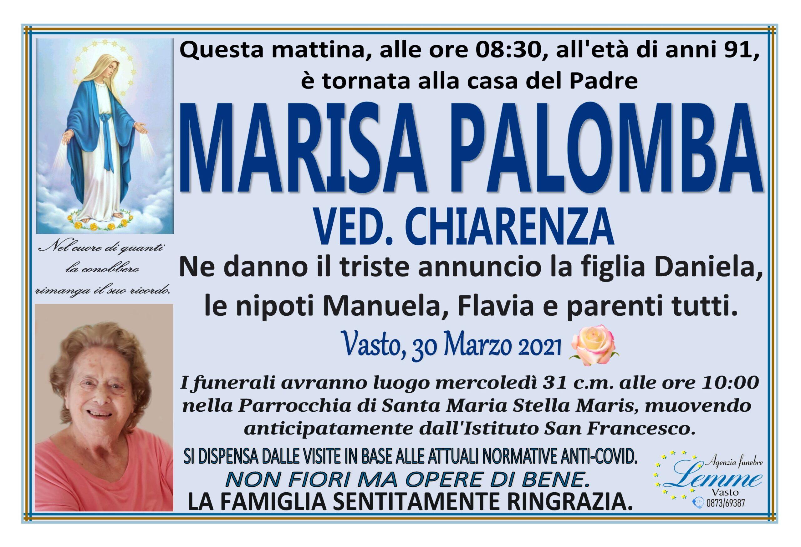 MARISA PALOMBA