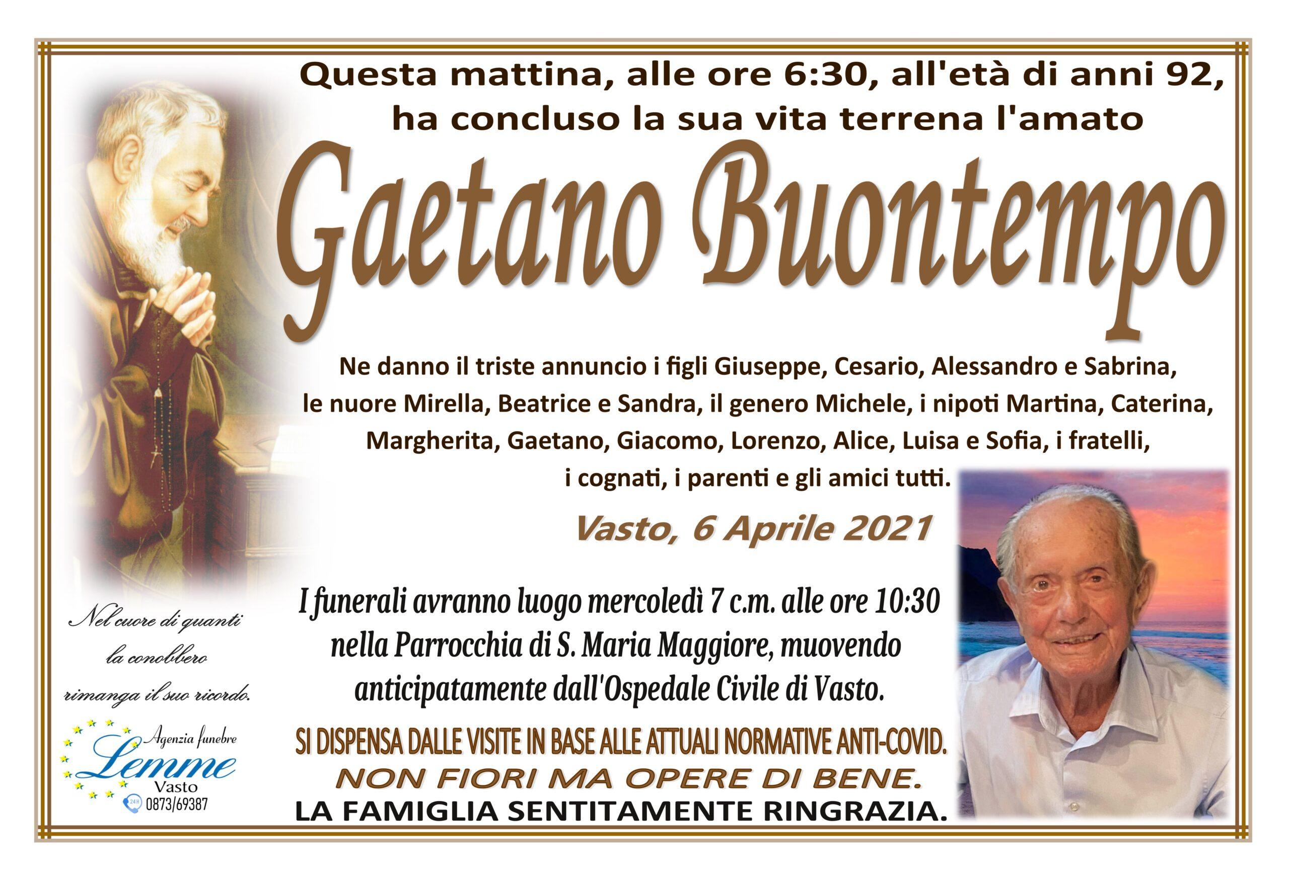 GAETANO BUONTEMPO