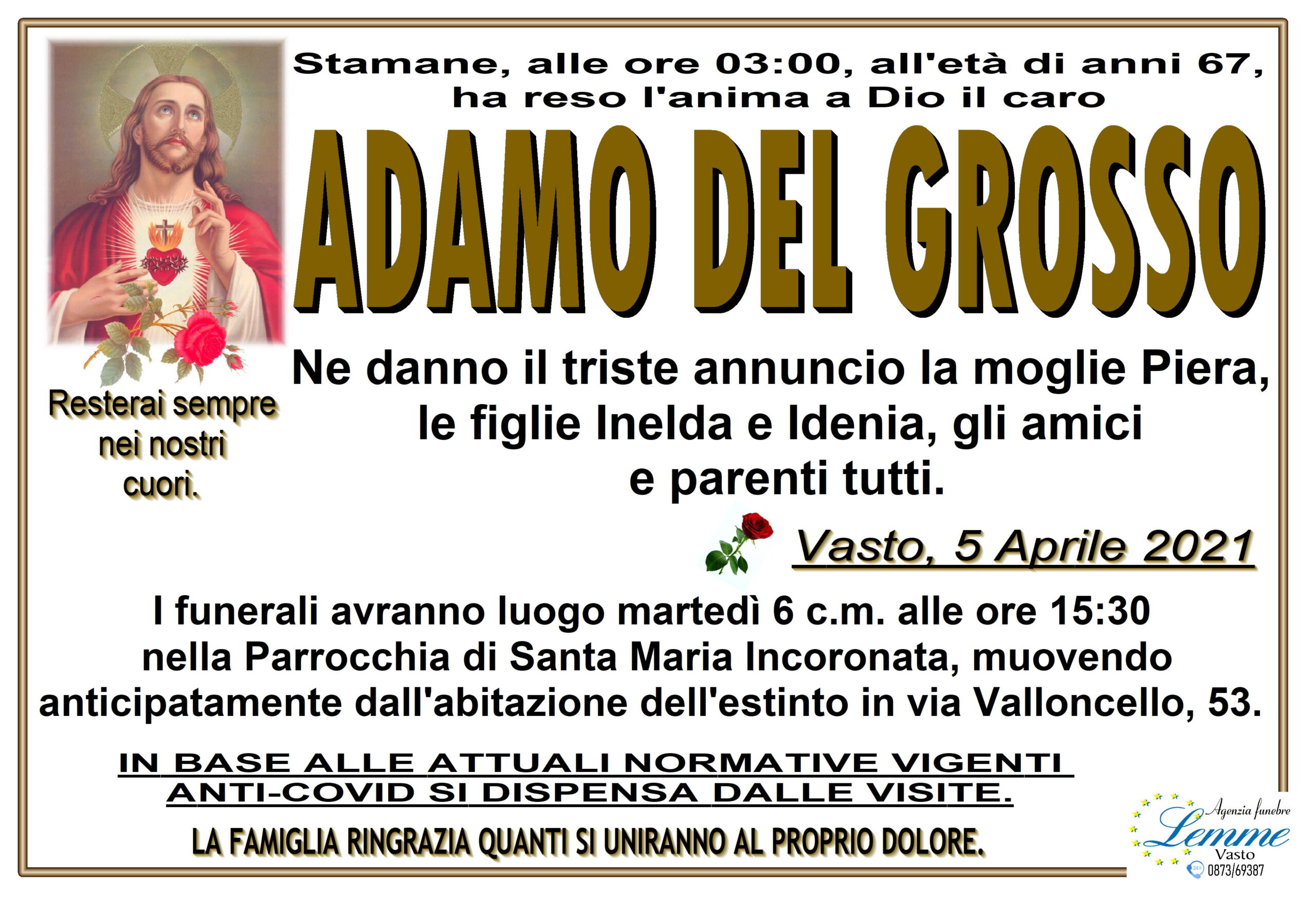 ADAMO DEL GROSSO