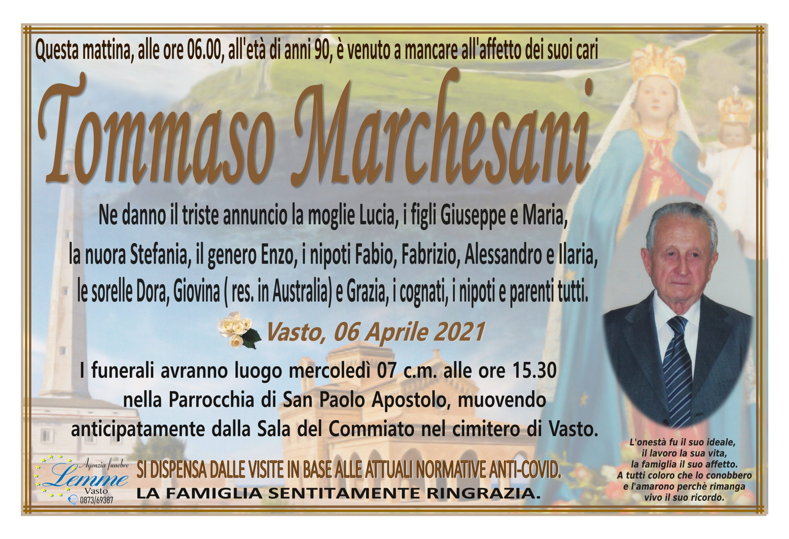TOMMASO MARCHESANI