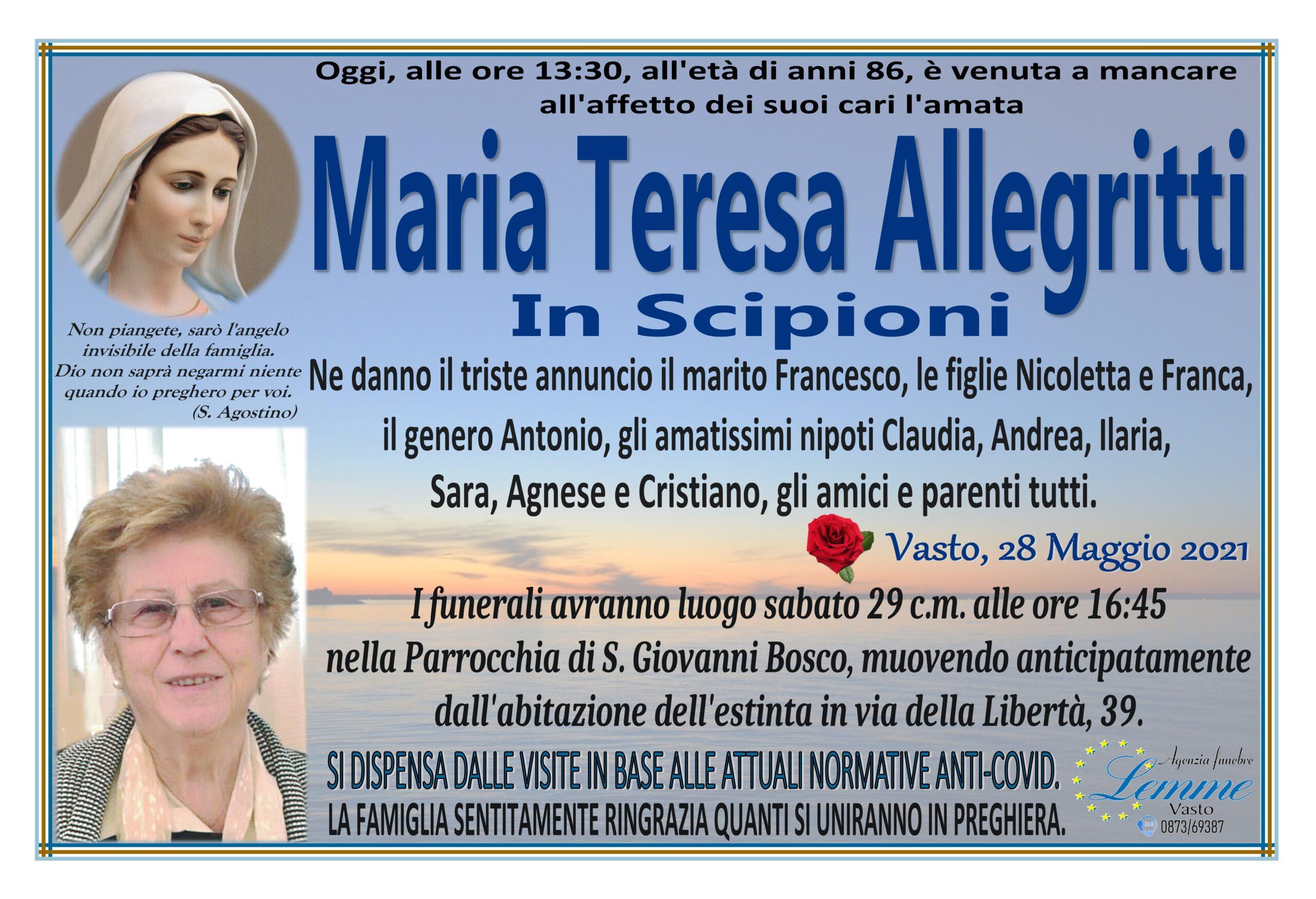 MARIA TERESA ALLEGRITTI