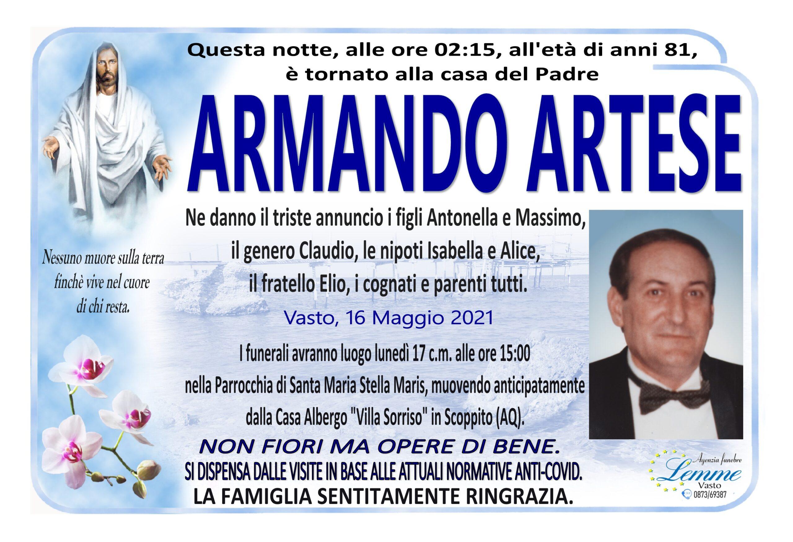 ARMANDO ARTESE