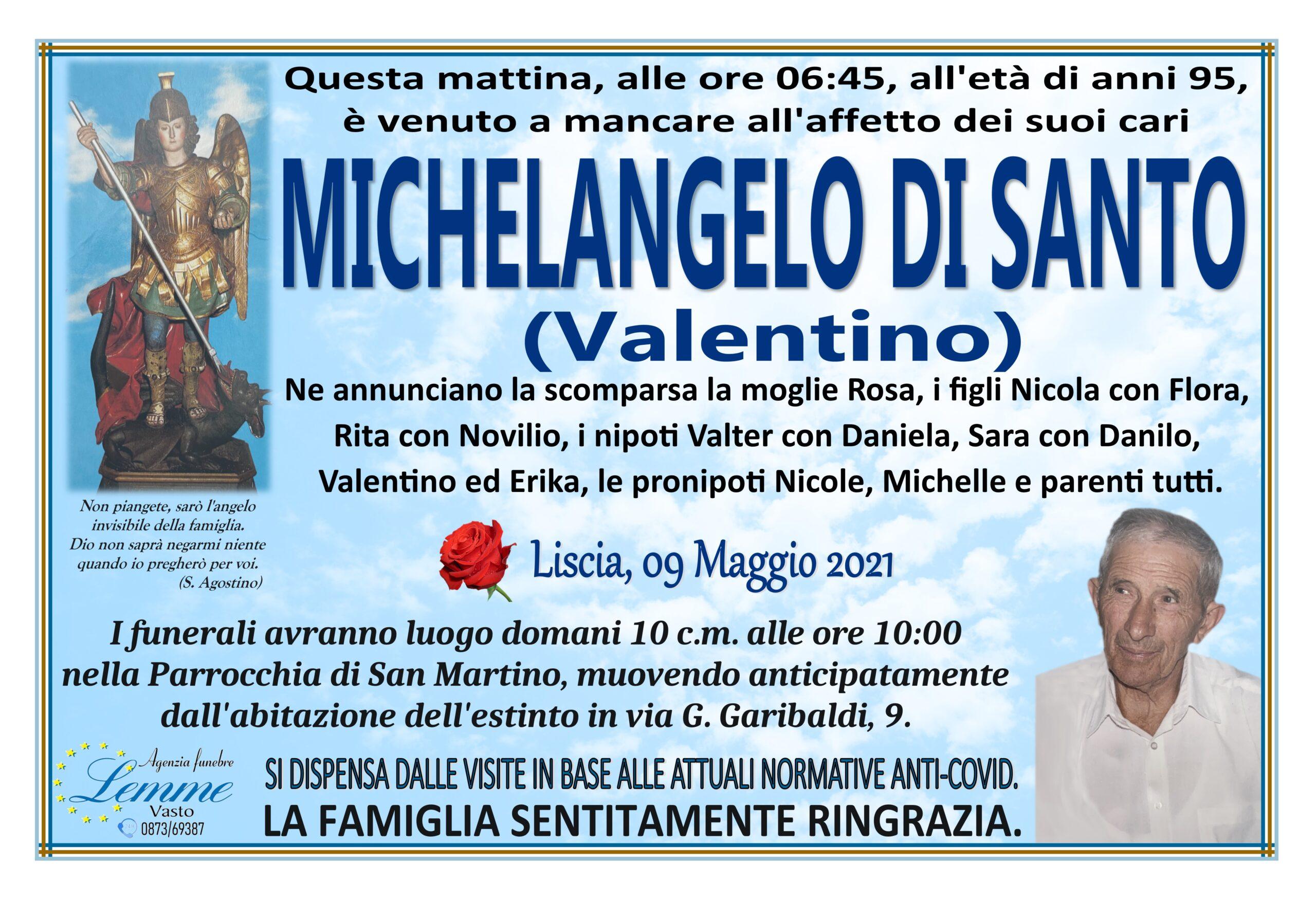MICHELANGELO DI SANTO