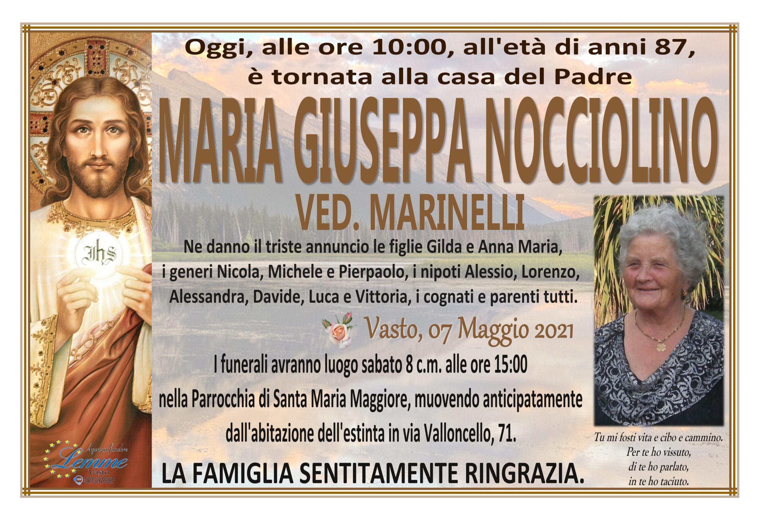 MARIA GIUSEPPA NOCCIOLINO