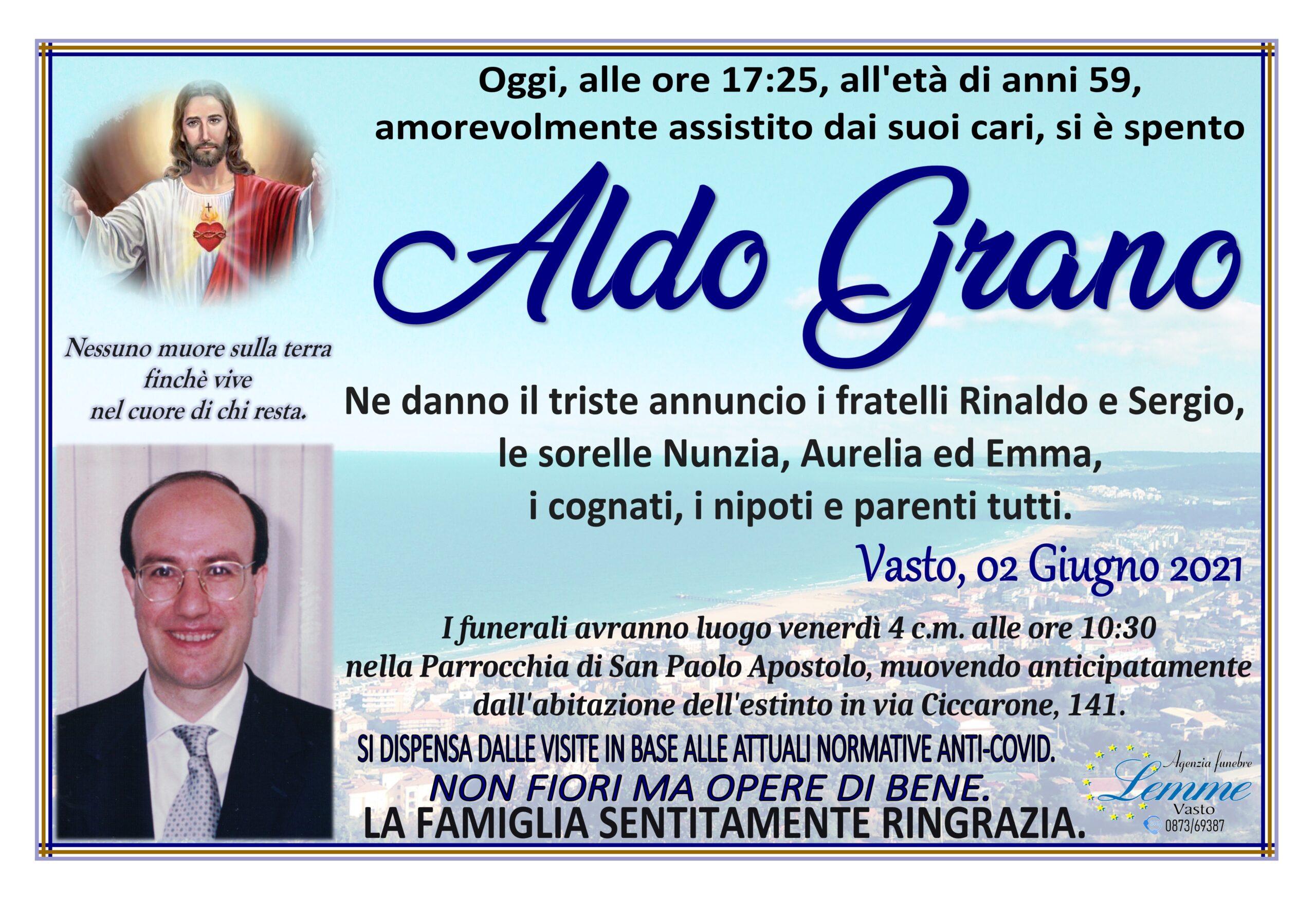 ALDO GRANO