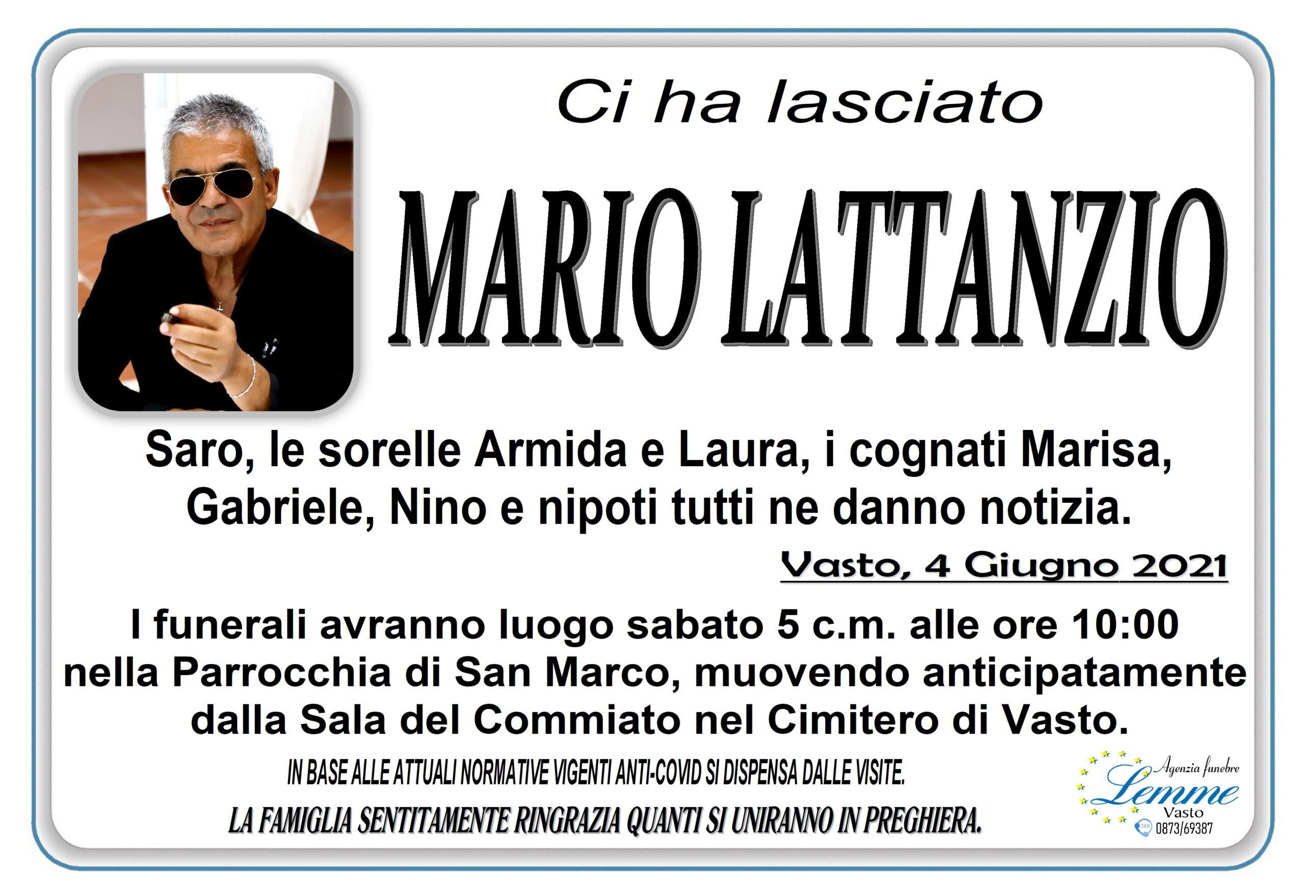 MARIO LATTANZIO